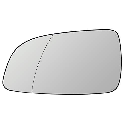 Elenxs Para Astra 2004-2008 Izquierda del Lado del Conductor Exterior climatizada Calefacción Espejo Espejo retrovisor de Cristal 6428786 13141985