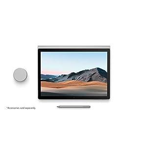 "NEW Microsoft Surface Book 3 - 13.5"" Touch-Screen - 10th Gen Intel Core i7 - 16GB Memory - 256GB SSD (Latest Model) - Platinum"