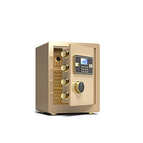 KJLY Cajas de seguridad para cajas de seguridad, cajas fuertes para el hogar, cajas de seguridad con número de contraseña, cajas de seguridad para efectivo y cheques (color: B)