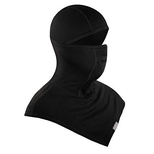 MERIWOOL Ski Mask For Men n Women 100% Merino Wool Balaclava Ski Face Snow Mask