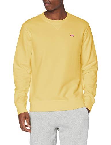 Levi s New Original Crew Sweatshirt, Dusky Citron, L para Hombre
