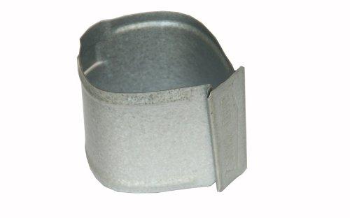 Rohrschelle mit Stift 200mm, Ø100mm (150/100) - für Dachrinnen