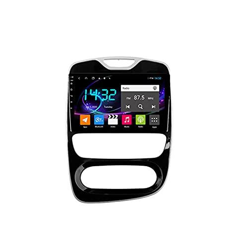Android 10.0 Autoradio Sat Nav Radio per R-enault Clio 2012-2019 Navigazione GPS 2 Din 10'' Head Unit Lettore multimediale MP5 Ricevitore video con 4G FM DSP WiFi SWC Carplay
