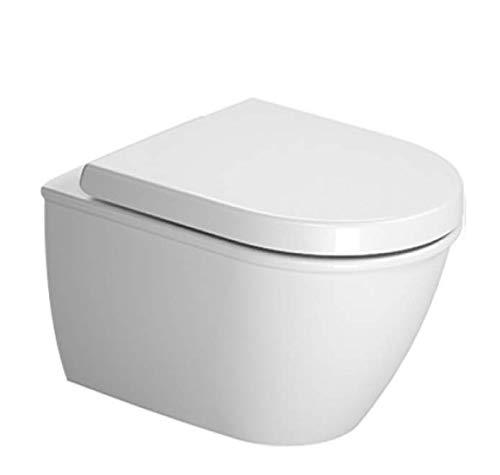Duravit Wand WC (ohne Deckel) Darling New Compact 485 mm, Tiefspüler, weiss, 2549090000