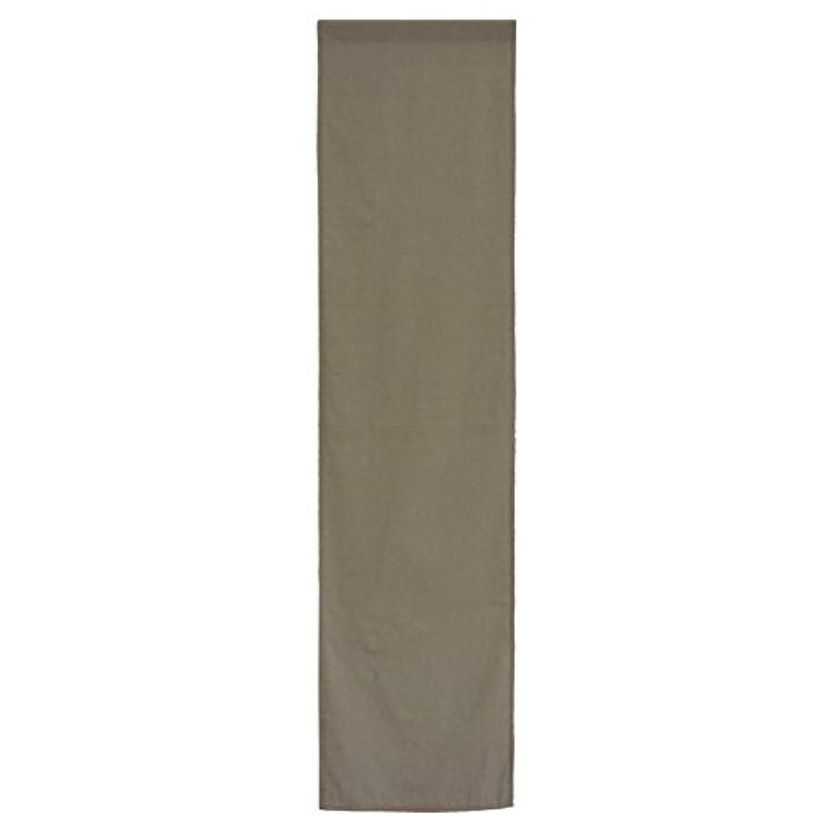 バッチ名誉世界の窓のれん 単品 約42cm×170cm SERO-セロ- ブラウン 組み合わせのれん コットン100%のやさしさ 目隠し 間仕切り ナチュラル ロング おしゃれ 北欧 無地 綿