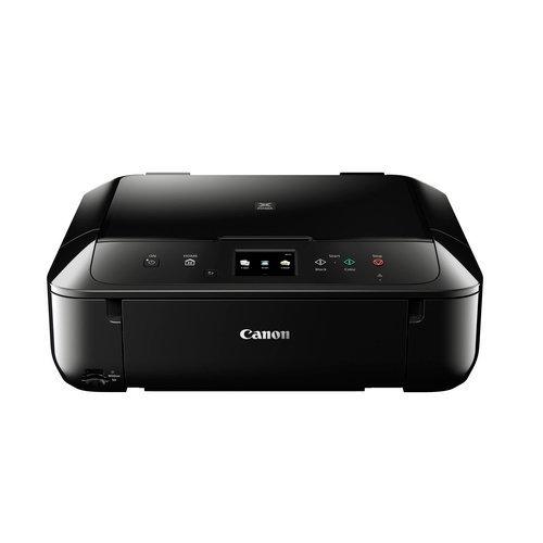 Canon Pixma MG6850 Farbtintenstrahl-Multifunktionsgerät (Drucken, Scannen, Kopieren, 5 separate Tinten, 7,5cm Touchscreen, WLAN, Print App, Duplex, 4.800 x 1.200 dpi) schwarz