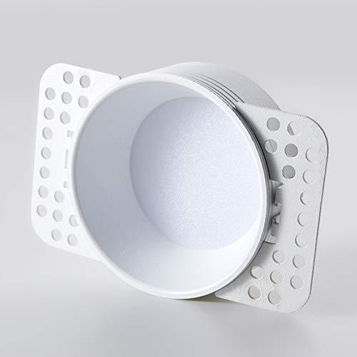 LED Spotlight LED Spotlight Ultra-Thin Round Anti-Gleight Downlight Oculted Conexión al hogar Embedded sin luz Principal Sin Borde, Alto CRI, sin Parpadeo, sin deslumbramiento