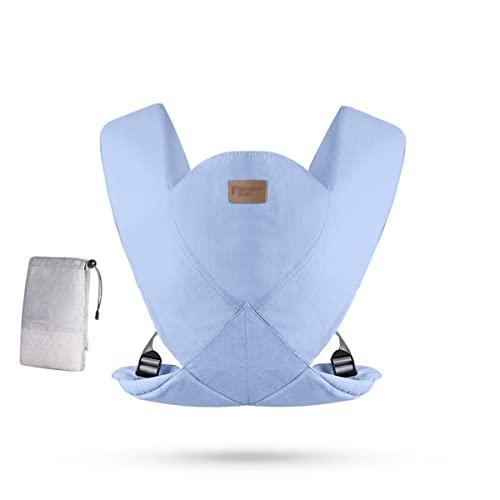 shisipq nosidełko dziecięce, chusta kółkowa nosidełko dziecięce dla niemowląt i małych dzieci, przenośne, nosidełko do twarzy, nosidełko z przodu iz tyłu, ultralekkie, bezproblemowe nosidełko do nosze