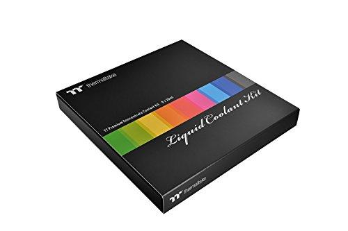 Thermaltake TT Premium Concentrate - Concentrado de Color anticorrosión para los Sistemas de refrigeración líquida (Pack de 9) Multicolor