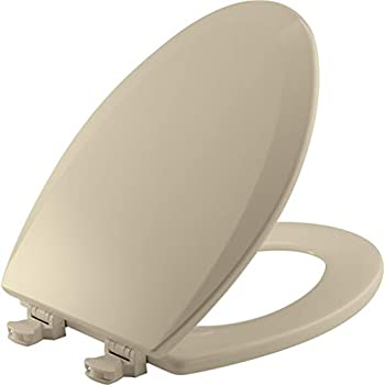 Bemis Durable Enameled Wood Elongated Toilet Seat