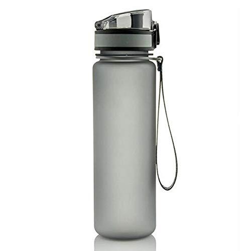 Sport Water Fles, Lekvrij Bpa Gratis Drinkwater Fles met Marker, Afsluitbare Pop Open Deksel, Opent met 1 klik, Geweldig voor volwassenen en kinderen