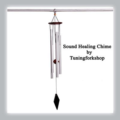 TFS Tuningforkshop Sound Healing 528 Hz Tuned Wind Chime Free Shipping