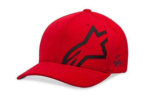 Alpinestars Unisex-Adult's Corp Shift Sonic Tech Hat, Red/Black, L/XL