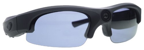 Rollei Sunglasses Cam 200 Actioncam Brille mit 5 Megapixel und Full HD - Schwarz