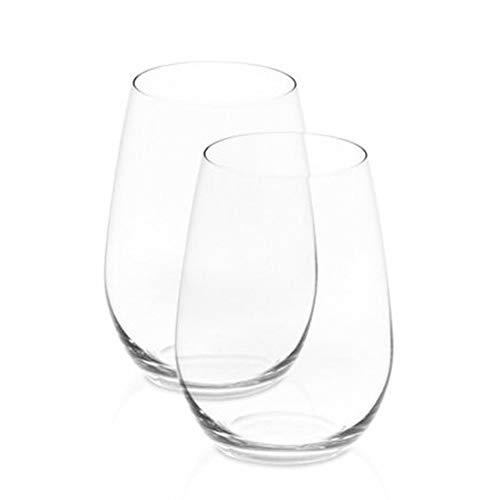 RIEDEL 414/15 Rotweinglas O Wine Tumbler Riesling/Sauvignon Blanc, 2-er Set