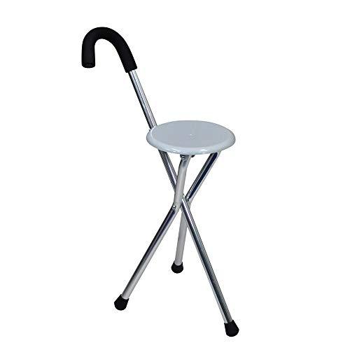 Langyinh Cane klapstoel, wandelstok en stoelen, medisch hulpmiddel, licht, voor kamperen, kamperen