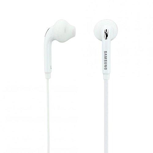 ORIGINALE SAMSUNG Head Set in Bianco per SM-G350Galaxy Core Plus InEar cuffie in-Ear auricolari headset auricolari 3,5mm spina Stereo Sound