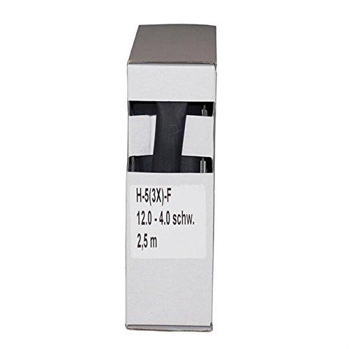Schrumpfschlauch + Kleber 3:1/12,0-4,0mm, 2,5m