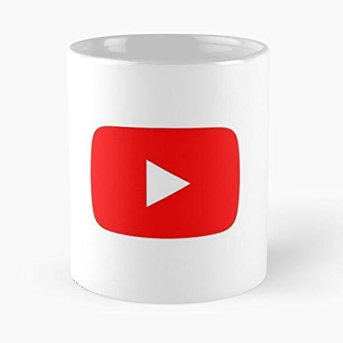 Desconocido Media You Instagram Youtube Tube Twitter Social Book Taza de café con Leche 11 oz