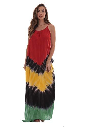 Riviera Sun Rasta Maxi Dresses for Women 21614B-XL