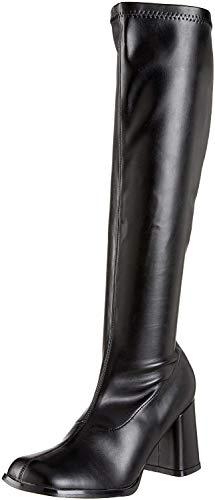Pleaser Damen Gogo 300 Klassische Stiefel, Schwarz (Blk STR Pu), 40 EU