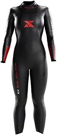Xterra Wetsuits Women's Vector Pro Full Suit, Black, Medium