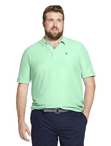 IZOD Men's Advantage Performance Solid Polo (Big Tall Slim),  Florida Keys, X-Large Tall