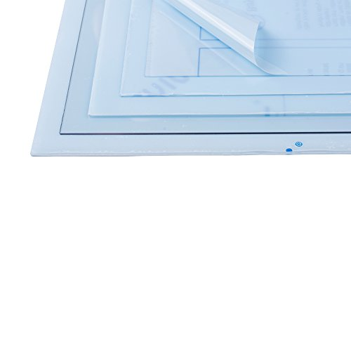 Vivak 22-53050 Architektur, Diorama, Modellbau Hoch-transparentes Pet-G Folien, 300 x 400 mm x 0,5 mm, (2 Stück)