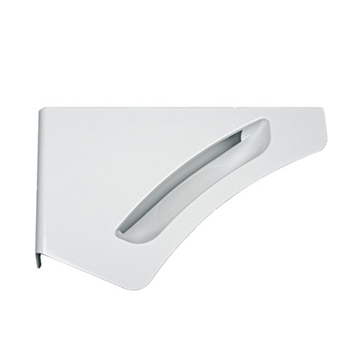 Miele 7181210 ORIGINAL Fenstergriff Türgriff Griff Bullaugengriff Fensterhandgriff Handgriff Verschluss Türverschluss weiß Trockner Waschmaschine Frontlader Waschvollautomat