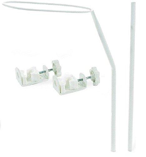 Babymajawelt® Himmelstange - Baby Bett Gitterbett Kinderbett Himmelhalter (zum festschrauben)