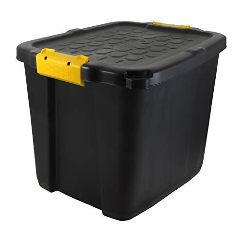 Koll Living Garden XXL transportbox/kussenbox met 60 liter inhoud, geschikt voor tuin, huis, hobby en bedrijf, beschermt de inhoud tegen vocht, weer- en UV-bestendig, uiterst robuust