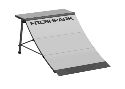 FreshPark Professional BMX and Skateboarding Quarter Pipe