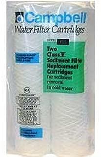 Campbell 1ss Sediment Filter Cartridges, 5 Micron, 9 3/4