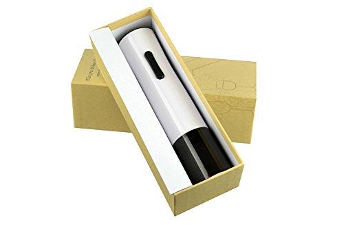 Lsshky Ouvre-Bouteille Électrique Automatique De Haute Qualité Ouvre-Bouteille De Vin USB Tire-Bouchon avec Coupe-Capsule (Blanc / 3Pcs)