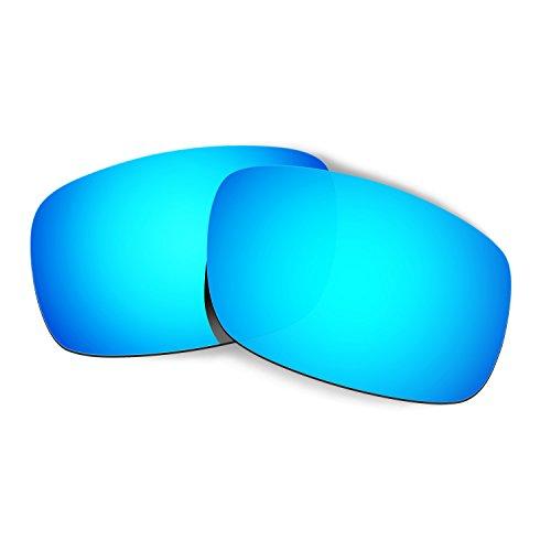 HKUCO Mens Replacement Lenses for Oakley Crankshaft Sunglasses Blue Polarized