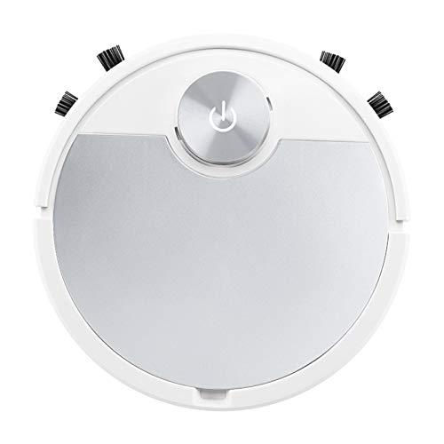 Baoblaze Roboter-staubsauger-Smart Robotic Vakuum für Pet Haar, 3000Pa Saug, APP Control, Bluetooth Verbunden, 90 Minuten Laufzeit, Super Ruhig - Silber