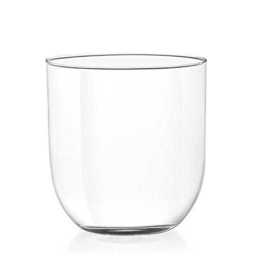 H & H Set van 6 glazen druppels wijnglazen CC300 glas wijnglas en kelk