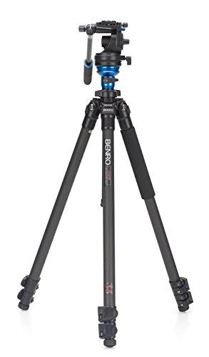 Benro S2 Single Leg Carbon Fiber Video Tripod Kit (C1573FS2)