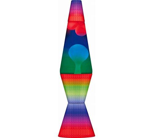 Funky Style Rainbow - Lámpara de lava multicolor