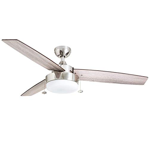 Prominence Home 51019 Statham Modern Farmhouse Ceiling Fan,...