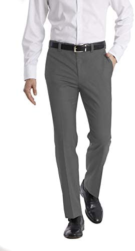 Calvin Klein Men s Modern Fit Dress Pant Medium Grey 36W x 30L product image