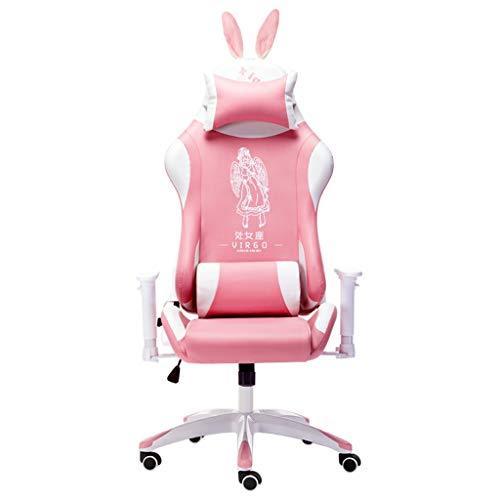 Computerstuhl Mädchen-Gaming-Stuhl Ergonomischer 180 ° Liegender...