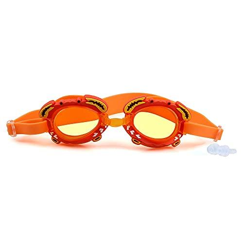 DSJGVN Flexiseal Gafas Natación Infantil, Ntación para Niños a Prueba de Fugas y Prueba de Niebla Puente de Nariz Flexible para Niños y Adolescentes (2-12 años)
