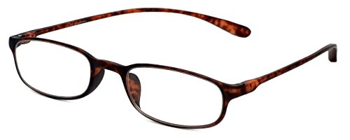 Calabria Reading Glasses - 718 Flexie in Tortoise (+1.00)