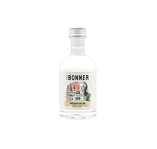 The Bonner MINI Premium Dry Gin 5cl (41% Vol.) - Miniatur Premium Dry Gin aus Beethovens Heimat Bonn - [Enthält Sulfite]