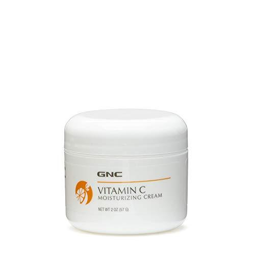 GNC Vitamin C Moisturizing Cream 2oz, Moisturizes Skin with Collagen