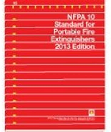 2013 NFPA 10 Standard For Portable Fire Extinguishers