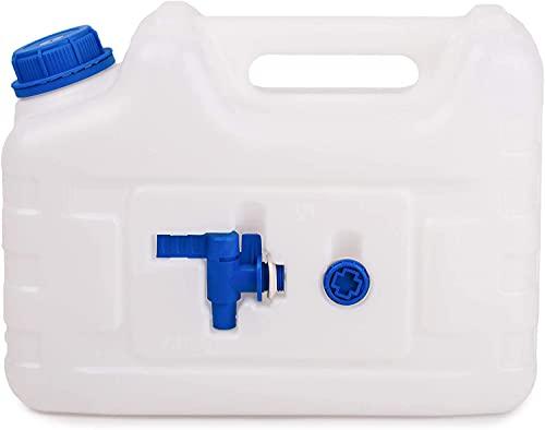BFG Frasco de Agua con Grifo, Adecuado para Agua Potable | Frasco de Agua con Grifo Seguro para Alimentos, Neutro en Sabor y Olor | 20