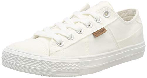 Dockers by Gerli Damen 40th201-790500 Low-top Sneakers, Weiß (Weiss 500), 41 EU