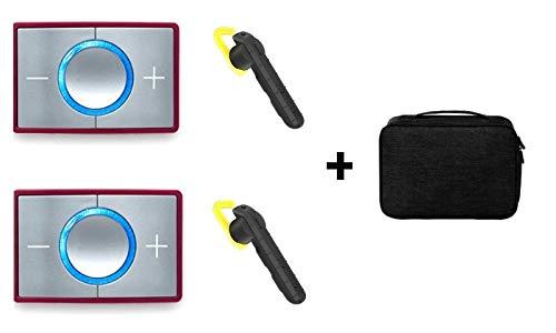 CEECOACH 2 Bluetooth Duo Jabra Steel Set inkl. hochwertigen Headsets und Tasche